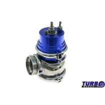 Külső wastegate TurboWorks 60mm 1,6 Bár V-Band Kék